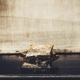 Pane di segale biologico. dolci fatti in casa