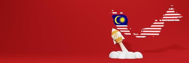 Grafico in aumento della criptovaluta bitcoin cash in malesia per i contenuti del sito web