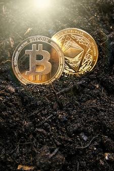 Bitcoin ed ethereum stanno lottando per la leadership nel mining di criptovalute