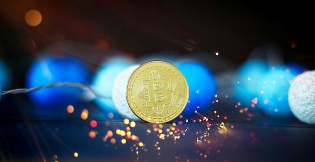 Bitcoin stock growth chart mostra un forte aumento del prezzo di bitcoin
