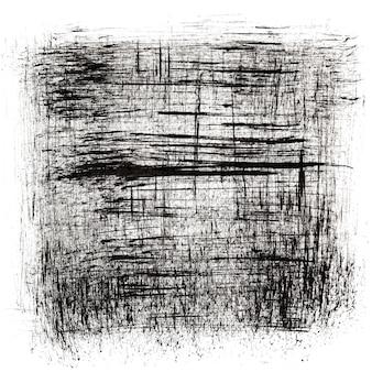 Sfondo astratto nero - disegno a inchiostro