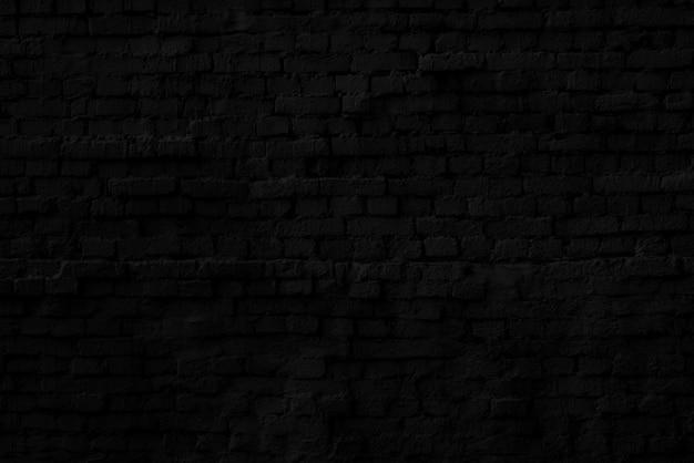 Muro di mattoni neri interni di un moderno loft