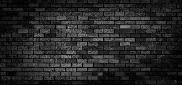 Struttura del muro di mattoni neri per lo sfondo del modello