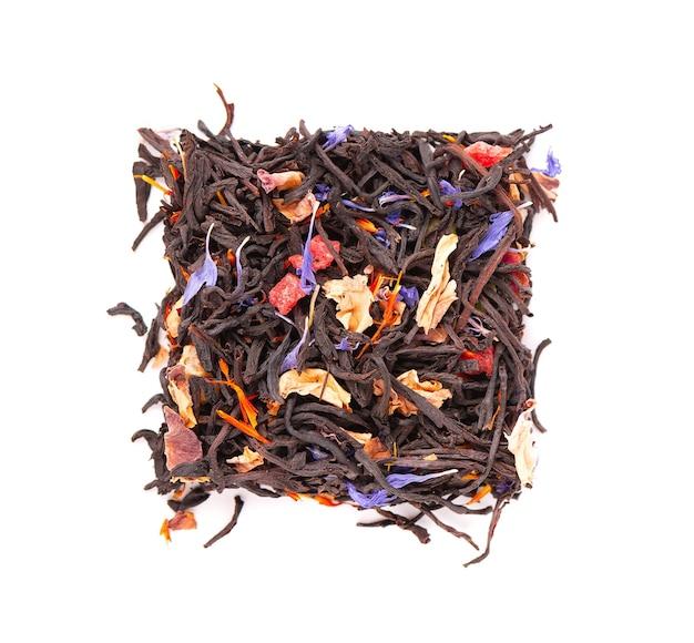 Tè nero di ceylon con frutta candita