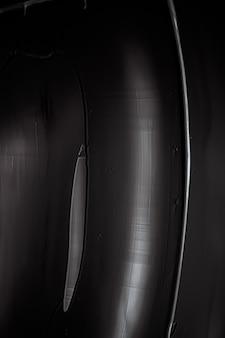 Sfondo di texture crema nera prodotto cosmetico e sfondo per il trucco per le vacanze del marchio di bellezza di lusso ...
