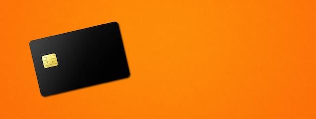 Carta di credito nera