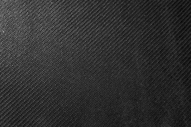 Trama del tessuto denim nero