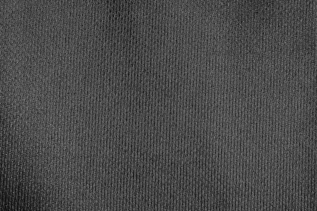 Priorità bassa di struttura del poliestere panno tessuto nero.