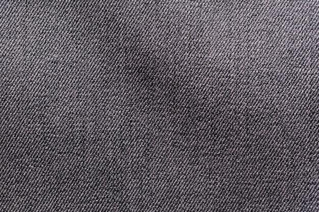 Tessuto nero panno poliestere texture e sfondo tessile.