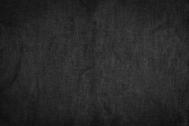 Dettaglio in fibra di tessuto nero.