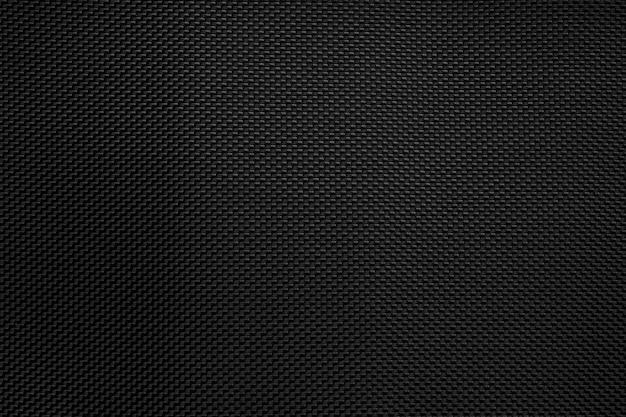 Fondo nero del modello di texure del tessuto