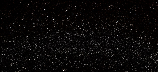 Glitter scintillanti neri Foto Premium