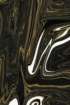 Trama di marmo nero e oro