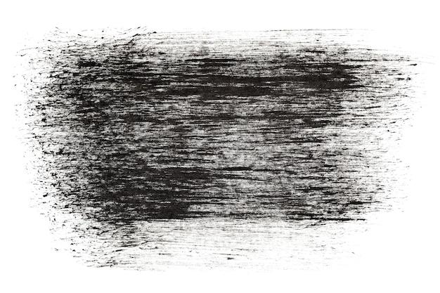 Tratti di inchiostro nero grunge - spazio per il tuo testo