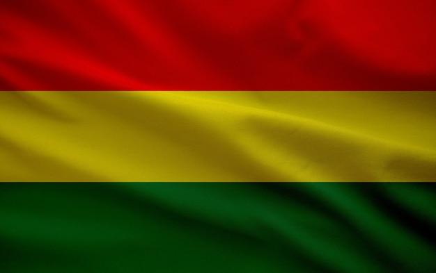 Sfondo della bandiera del mese di storia nera