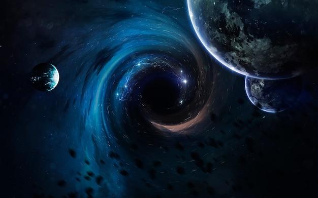 Buco nero nello spazio
