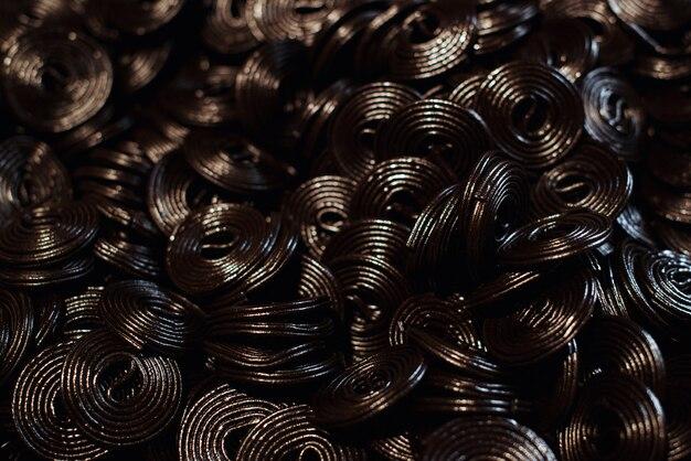 Liquirizia aromatizzata alla gelatina nera