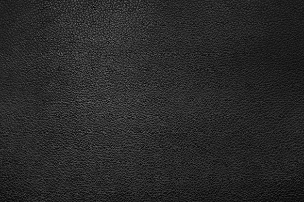 Sfondo texture pelle nera