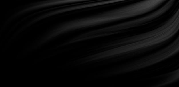 Sfondo di tessuto di lusso nero con spazio di copia