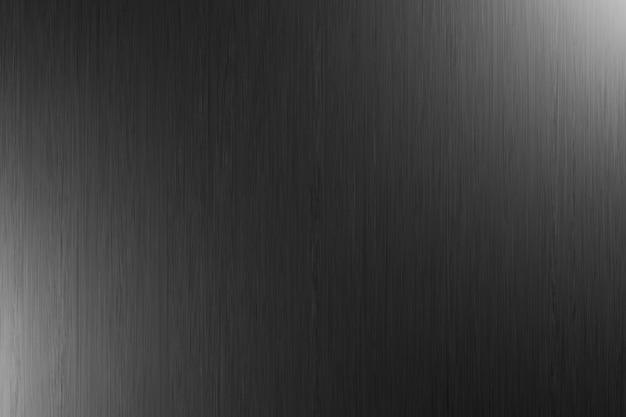 Trama di sfondo in metallo nero con effetto di luce. progettazione grafica d'arte. 3d
