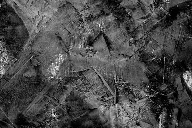 Struttura del mortaio nero, sfondo scuro