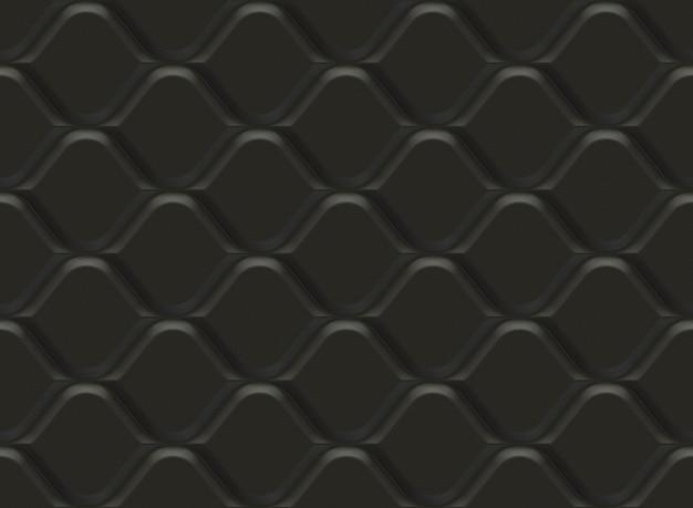 Motivo ornamentale nero