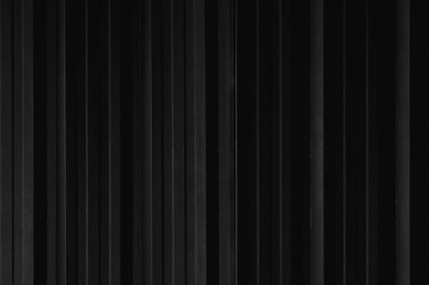 Struttura della parete del contenitore di lamiera sottile linea nera per lo sfondo.