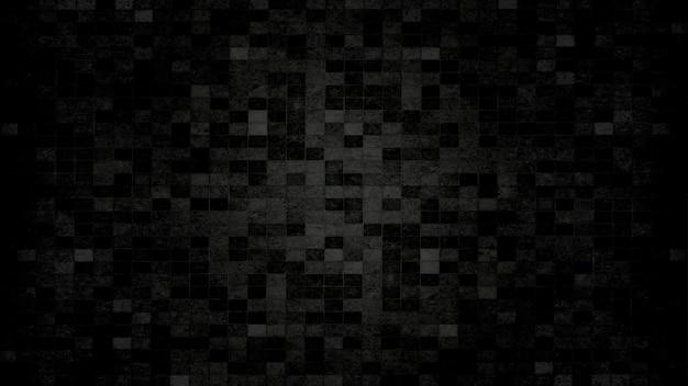 Priorità bassa di struttura della parete di piastrelle nere. concetto di venerdì nero