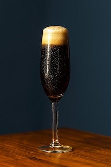 Cocktail di velluto nero.