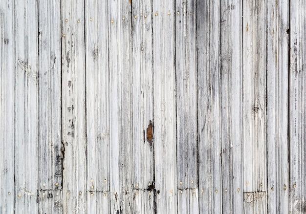 Sfondo bianco e nero della vecchia tavola di legno wooden