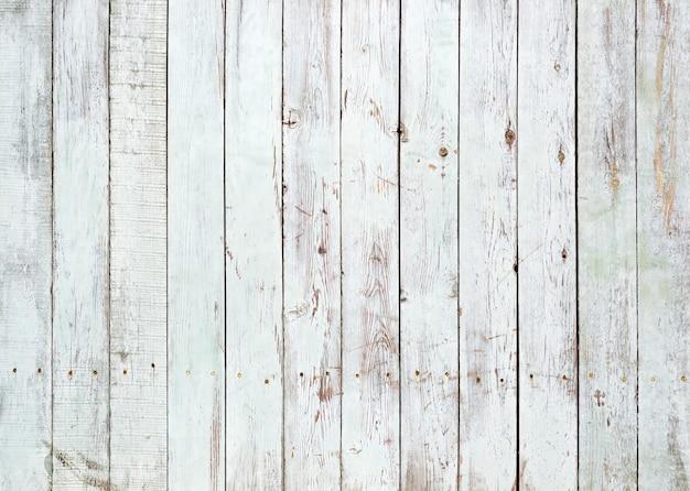 Sfondo bianco e nero di tavolato in legno verniciato stagionato