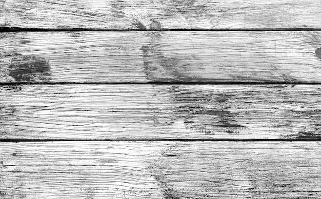 Sfondo bianco e nero di tavolato in legno
