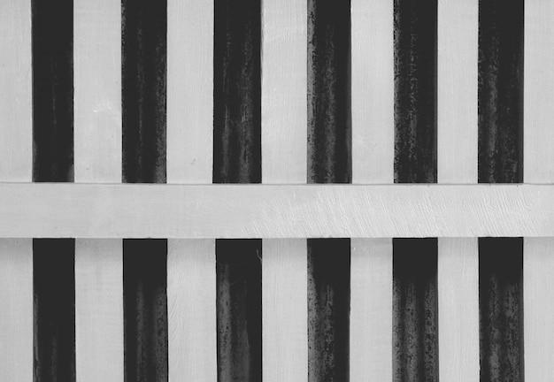 Priorità bassa di struttura di legno del pannello bianco e nero
