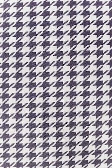 Tessuto in nylon con motivo in bianco e nero per lo sfondo