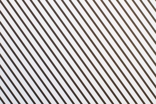 Sfondo di carta a strisce in bianco e nero