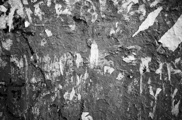 Sfondo bacheca pubblica vintage in bianco e nero