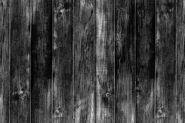 Struttura e fondo del pavimento in legno nero.