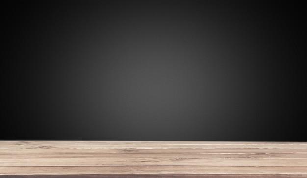 Struttura in legno nero