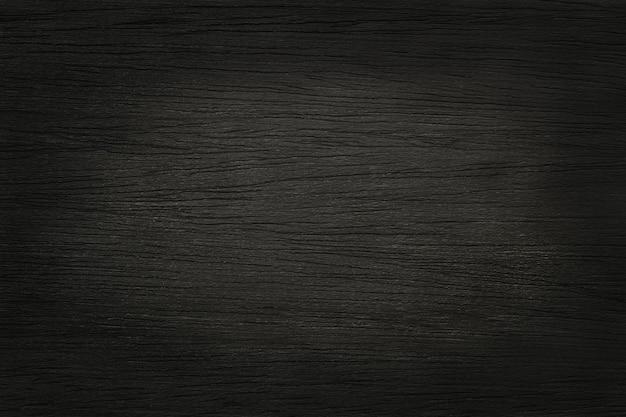 Fondo della parete della plancia di legno nera, struttura del legno della corteccia con il vecchio modello naturale.
