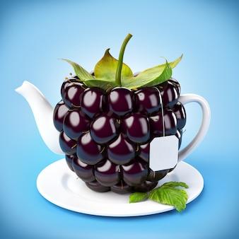 Teiera blackberry