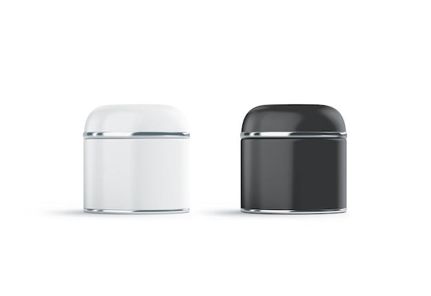 Il cosmetico in bianco e nero in bianco può deridere su, isolato