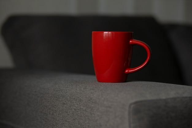 Modello di disegno di stampa tazza vuota
