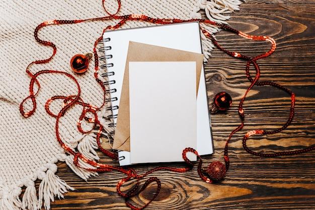 Nota vuota sul concetto di buon natale e anno nuovo