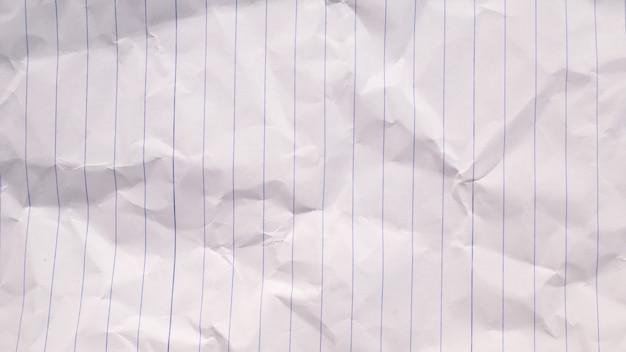 Pagina di quaderno vuota
