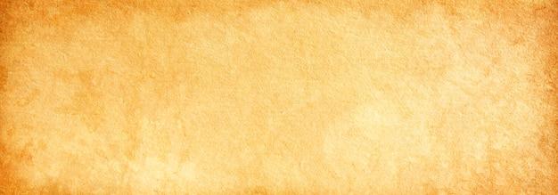 Pagina vuota, vecchia carta marrone, struttura della carta antica beige