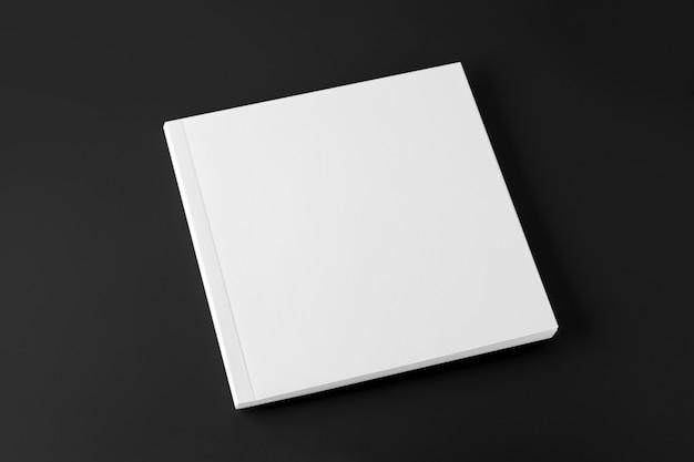 Modello di copertina quadrata vuota