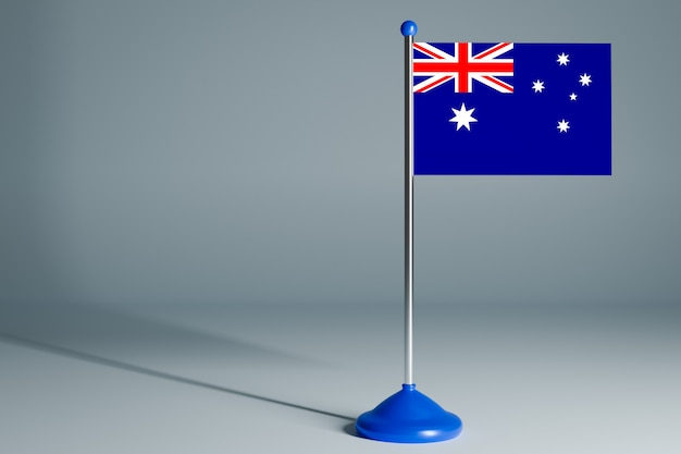 Bandiera da tavolo vuota, adatta al design,