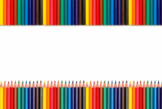 Vuoto con matite colorate