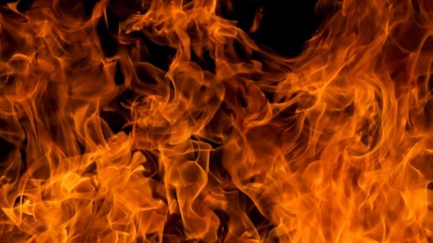 Fondo di struttura della fiamma del fuoco della fiammata