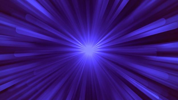Linee di movimento astratte blu con rumore in stile anni '80, sfondo retrò. stile di illustrazione 3d di gioco dinamico elegante e lussuoso